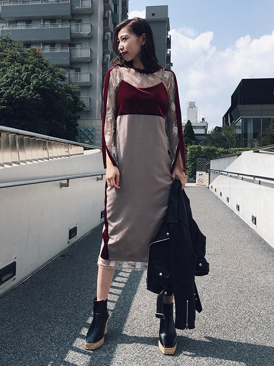 kaori_4WAY DIVERSITY DRESS