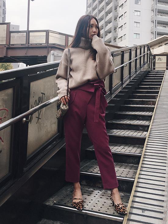 maki_WRAP WAIST JOGGER PANTS