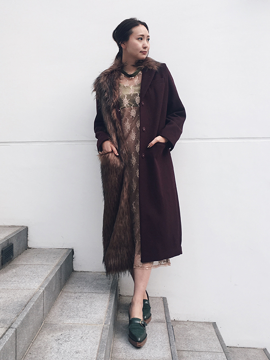 maki_FUR DOCKING COAT