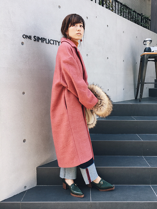 mai_COLOR OVER COAT
