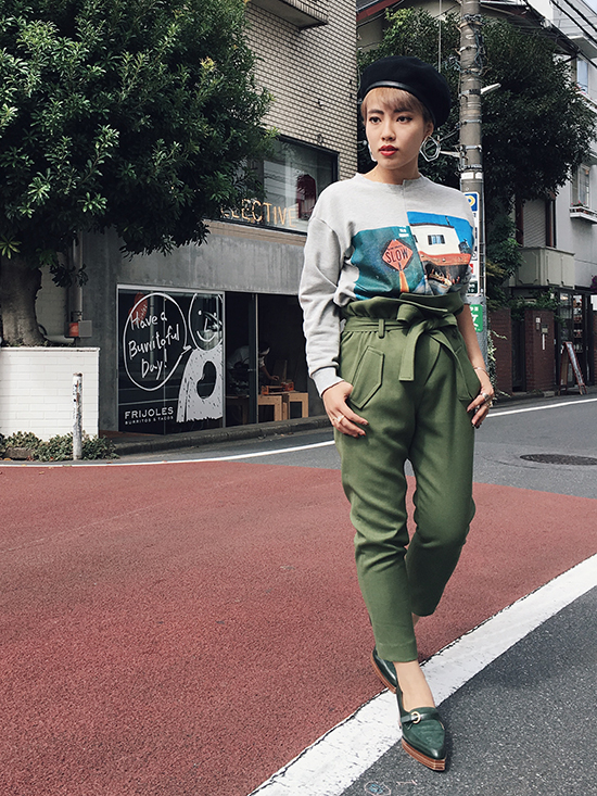 shioriok_WRAP WAIST JOGGER PANTS
