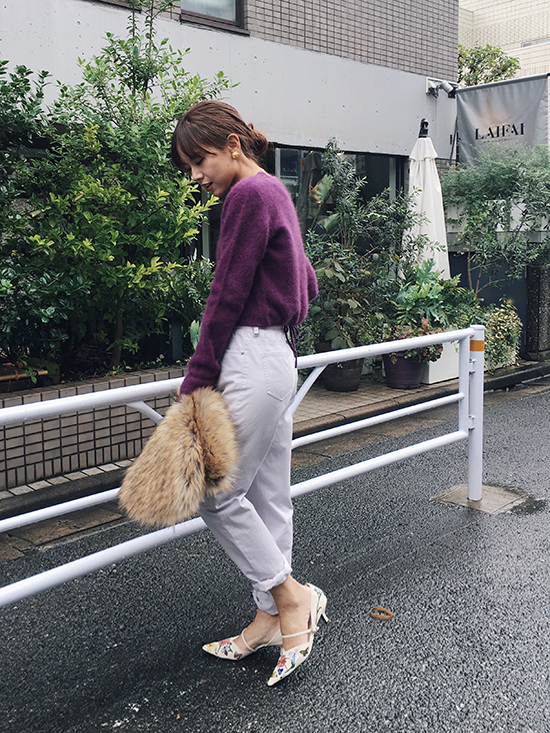 yukin_PETIT RACCOON KNIT TOP