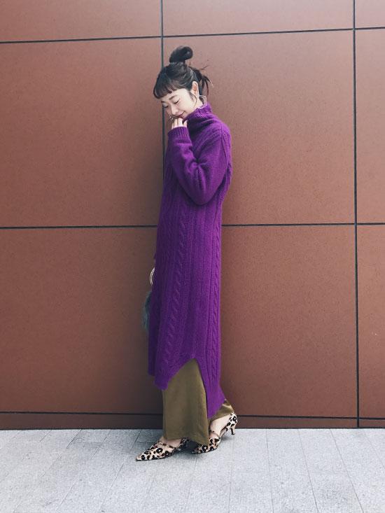 kae_CABLE KNIT DRESS