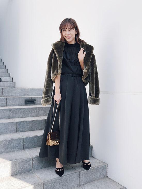 yukin_LADY BUSTIER ROMPERS DRESS