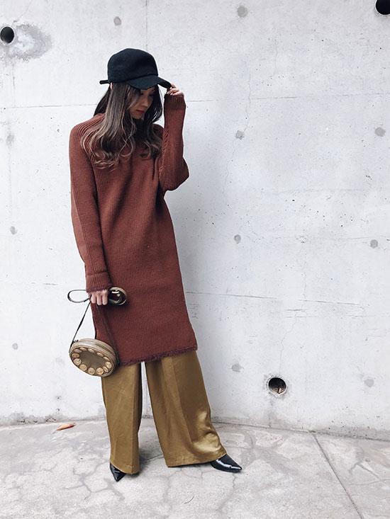 maki_BOTTLE KNIT DRESS