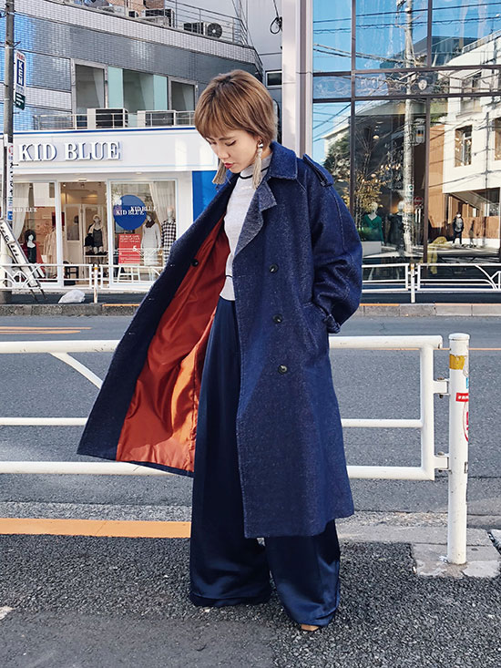 shioriok_WOOL TRENCH COAT