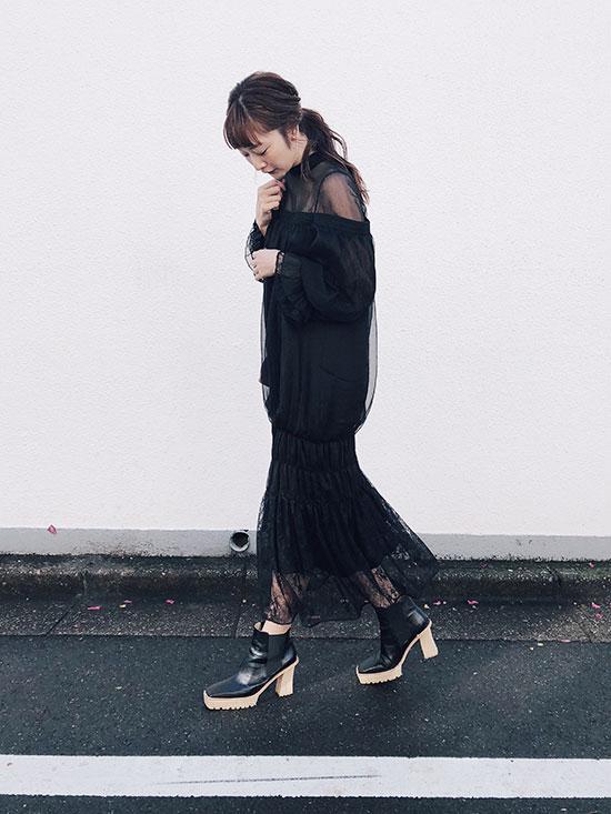 kae_CATTLEYA SHEER DRESS