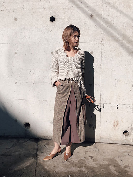 yuko_2WAY CONVENIENCE PANTS