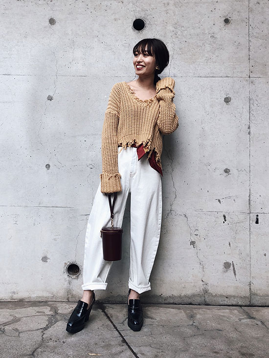 shiorioz_WORN OUT LOOSE KNIT