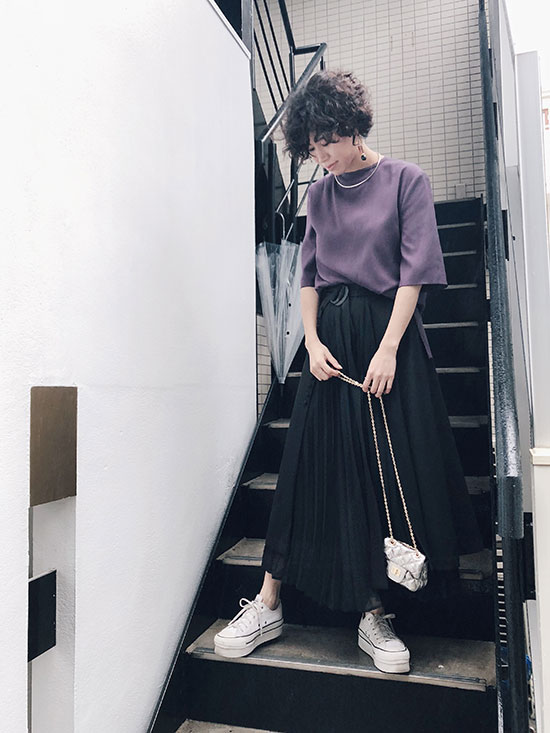 yukim_2WAY PLEATS PANTS