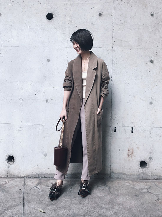 ayumi_SPRING CANVAS OVER COAT