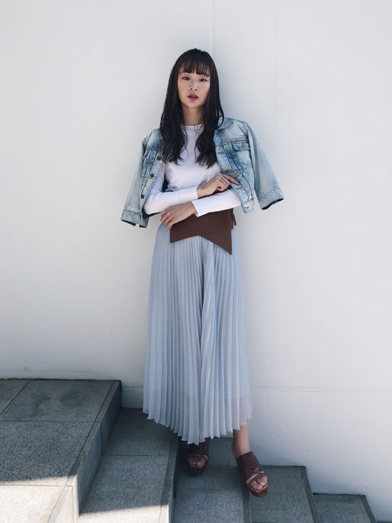 kae_2WAY PLEATS PANTS