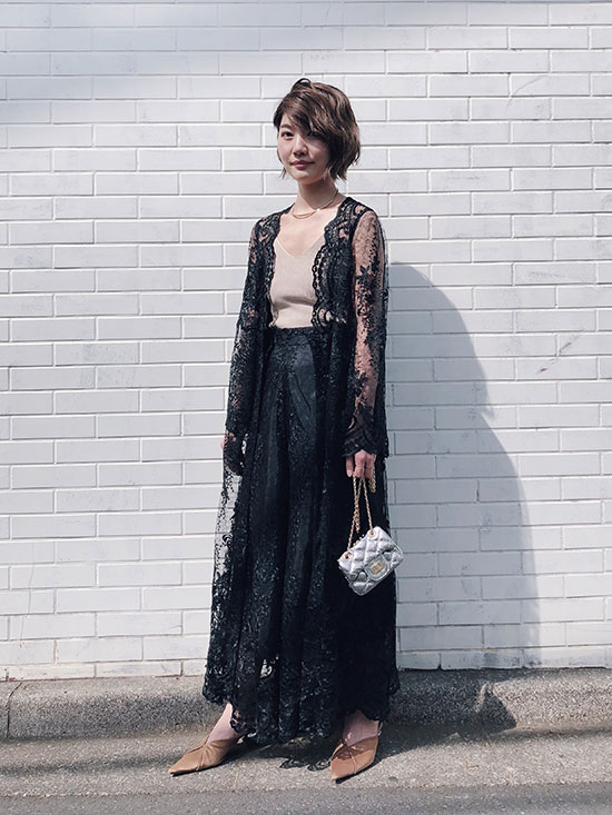 ayumi_LINDA LACE GOWN DRESS