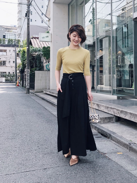 ayumi_HIGH WAIST WIDE PANTS