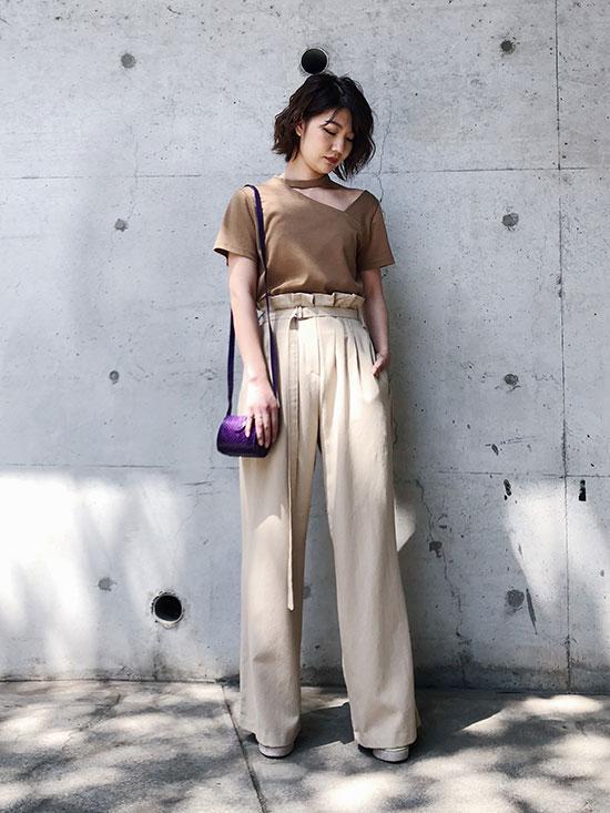 ayumi_CHOKER NECK ASYMMETRY TOP