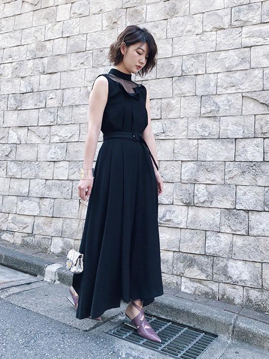 ayumi_LADY ORIGAMI ROMPERS DRESS