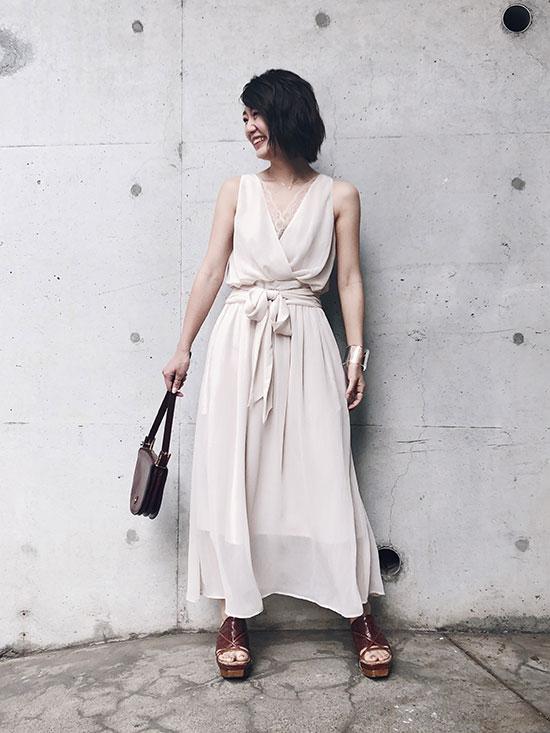 ayumi_ROMANTIC ROPE DRESS