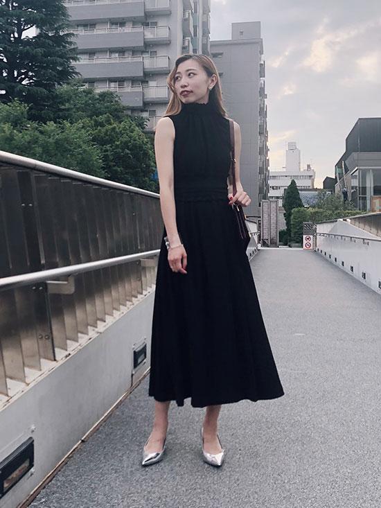kaori_SHIRRING LONG DRESS