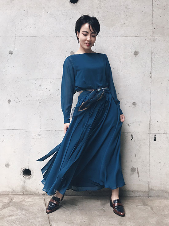 shioriok_CURTAIN LADY DRESS