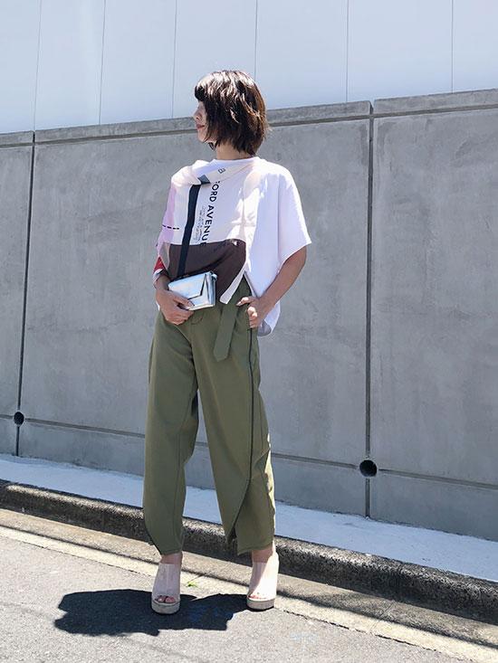 ayumi_MEDI ORBIT OVAL PANTS