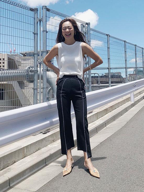 kae_VINTAGE LIKE LINE PANTS