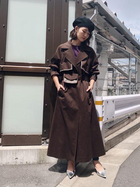 ayumi_REVERSIBLE TRENCH COAT