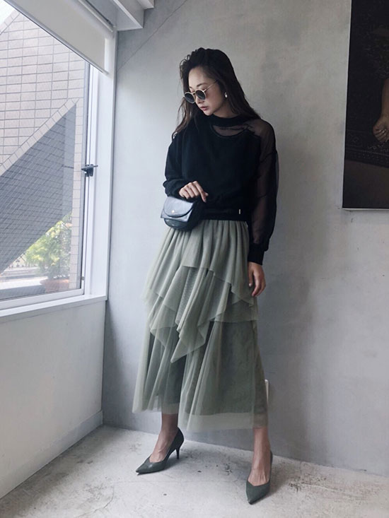 kae_DREAMY TULLE SKIRT