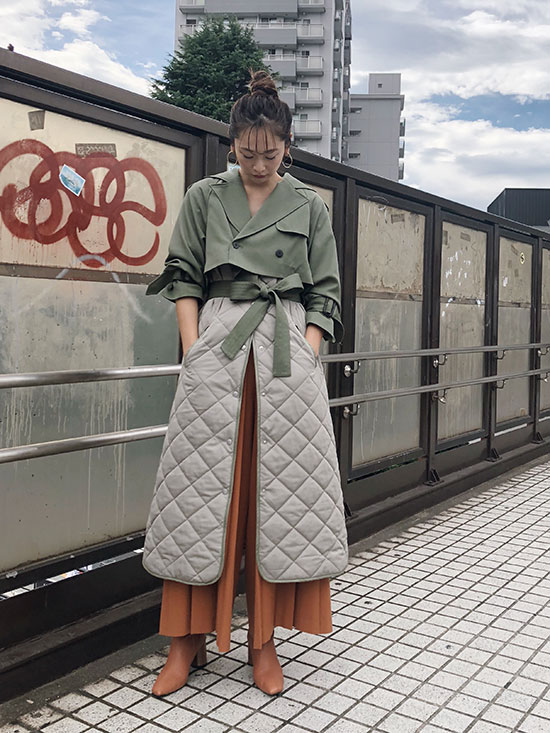 kae_3WAY MILITARY LINER COAT
