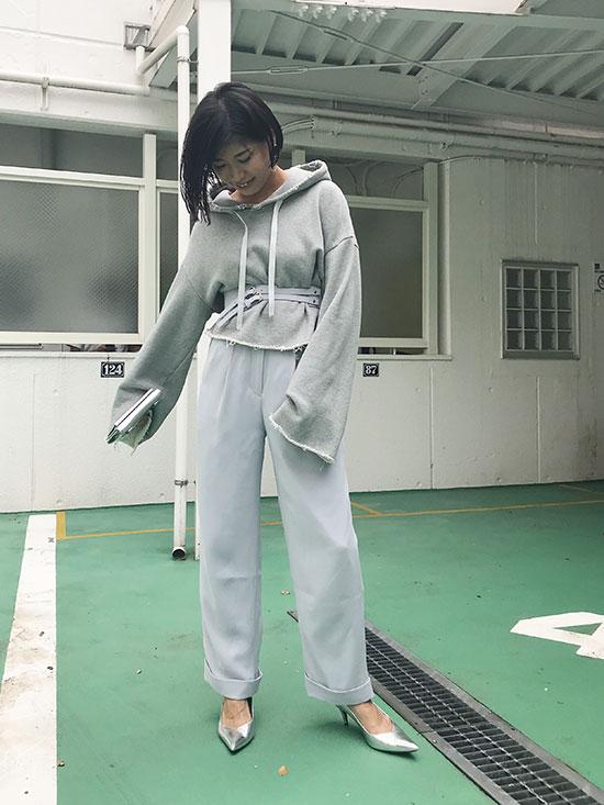yukim_CORSET BELT PANTS