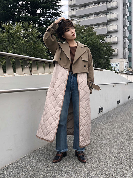 shioriok_3WAY MILITARY LINER COAT