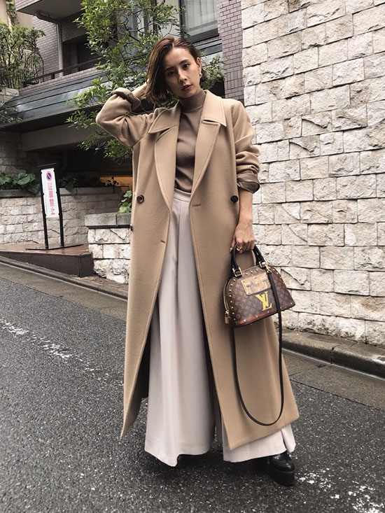 nao_LITTLE FLARE LONG COAT