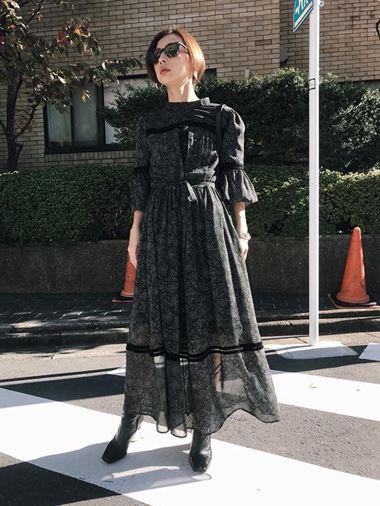 nao_MELISSA SLENDER DRESS