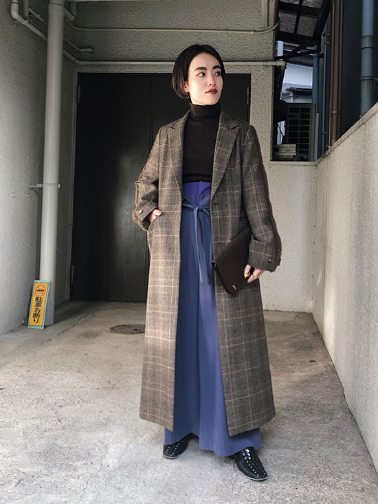 shioriok_WAIST LAYERED WIDE PANTS