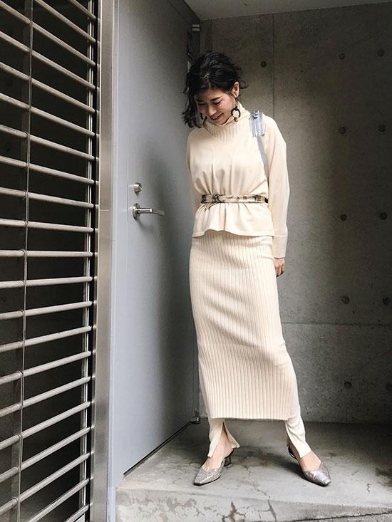 yukim_HANDY KNIT DRESS SET