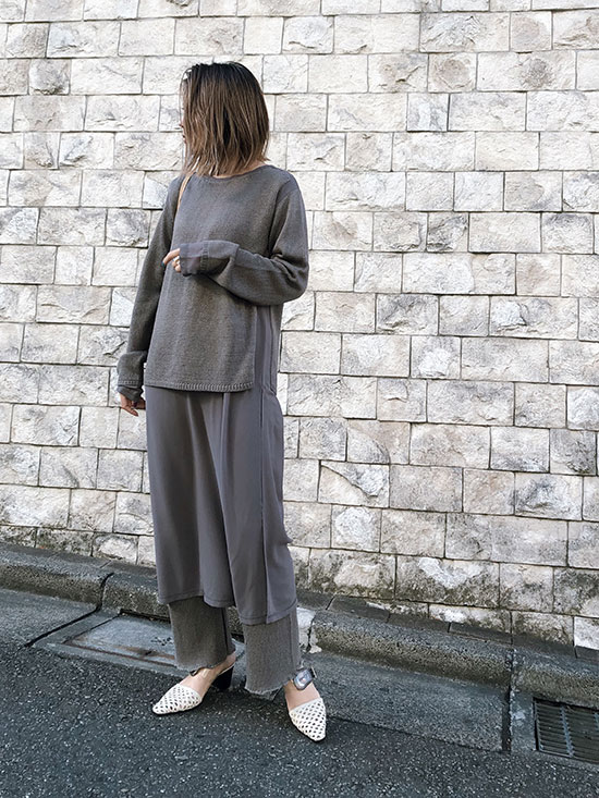 yuko_SHEER DOCKING KNIT