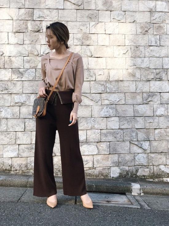 yuko_SIDE OPEN LAYEARD KNIT