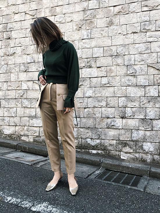 yuko_JACKET BELT PANTS