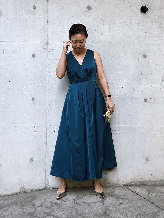 haruka_LADY TUCK FLARE DRESS
