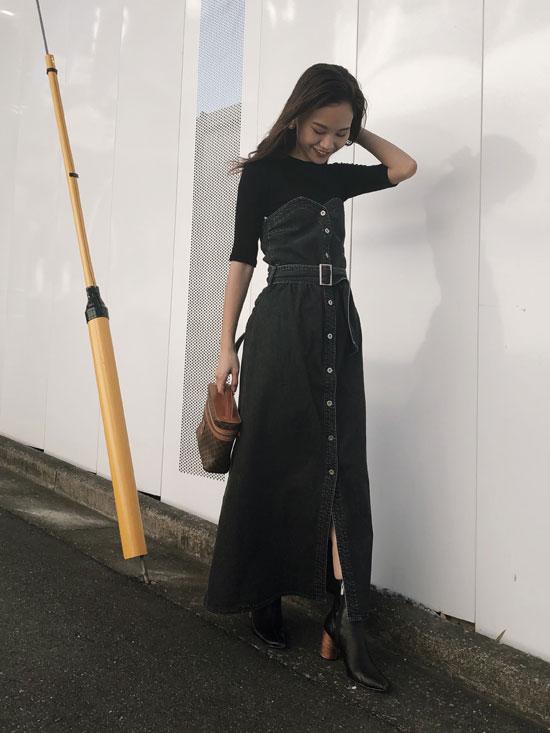 yukin_DENIM UNIFY DRESS