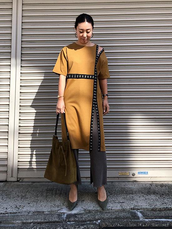 haruka_HOOK&I SLIT DRESS
