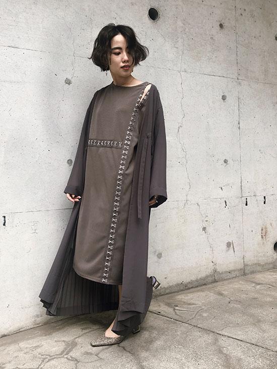 shiori_3WAY SHEER DOCKING COAT