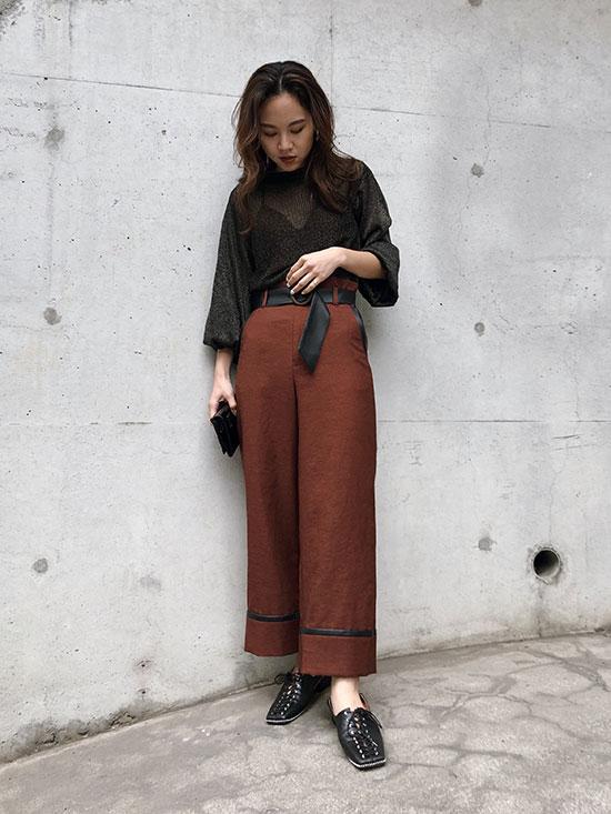 yukin_SWITCH STRAIGHT PANTS