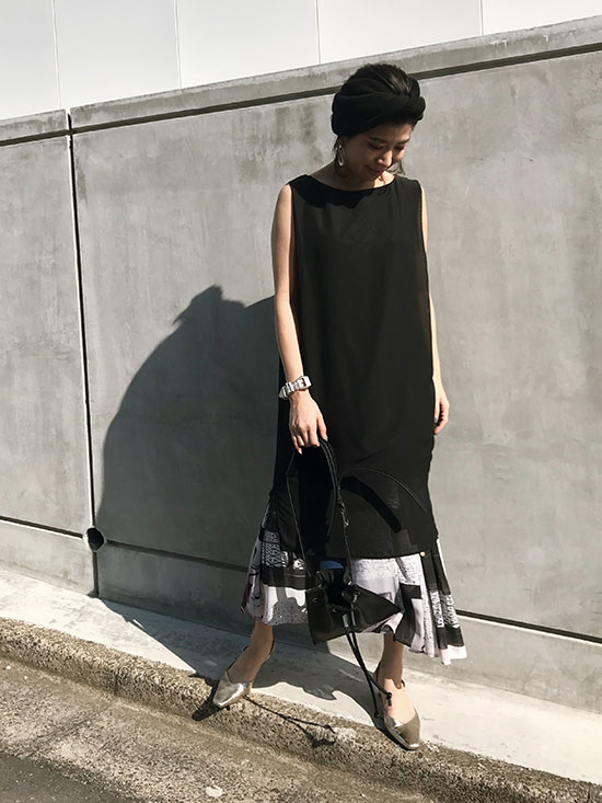 yukim_GEOMETRY ART 3WAY DRESS