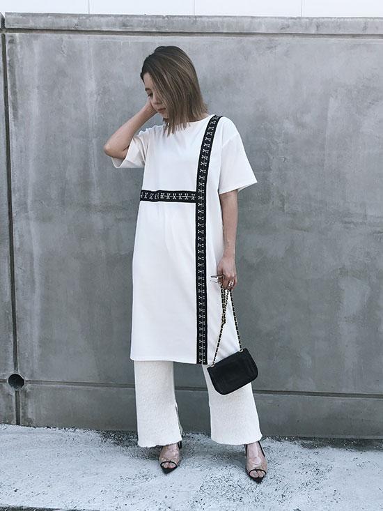 yuko_HOOK&I SLIT DRESS
