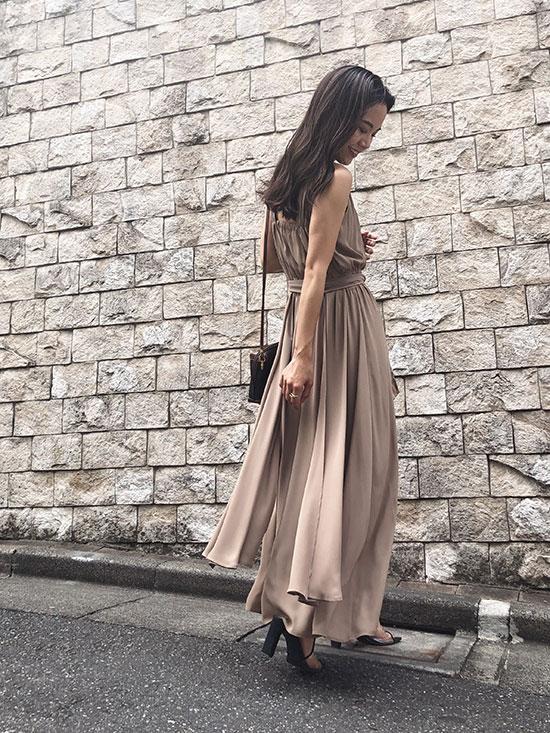 yukin_BACK TAIL CIRCULATE DRESS