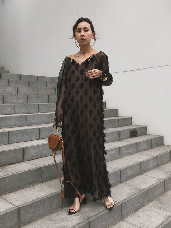 nao_4WAY MOTIF DIVERSITY DRESS