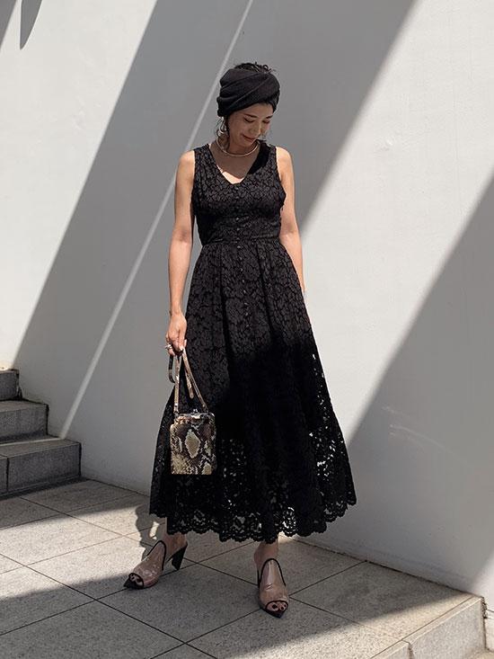 yukim_MEDI BACK CROSS DRESS