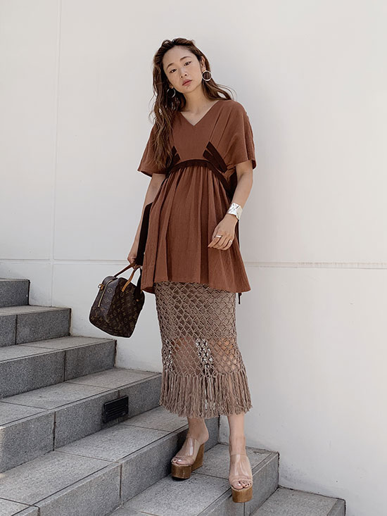 kae_EACH WAY CLOTH BLOUSE