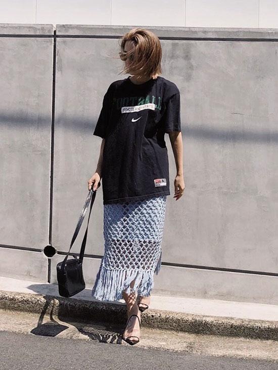 yuko_VINTAGE TEE/NIKE