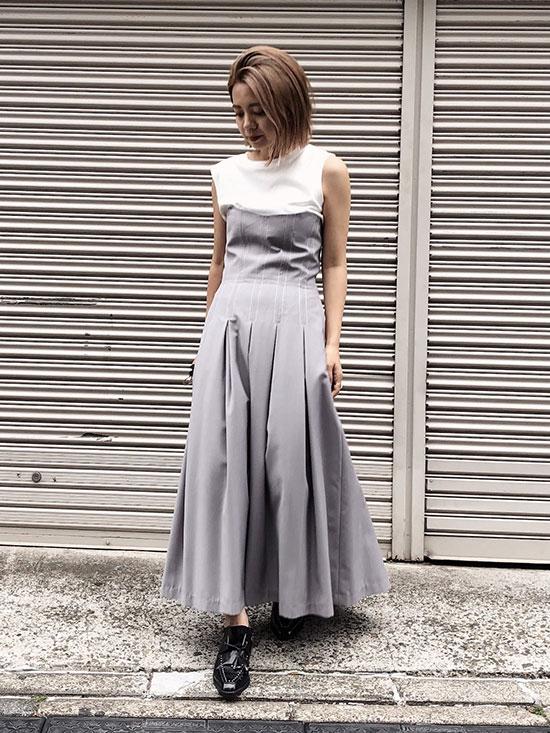 yuko_STITCH TUCK DRESS